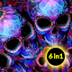 Skull Candy Background - VideoHive Item for Sale