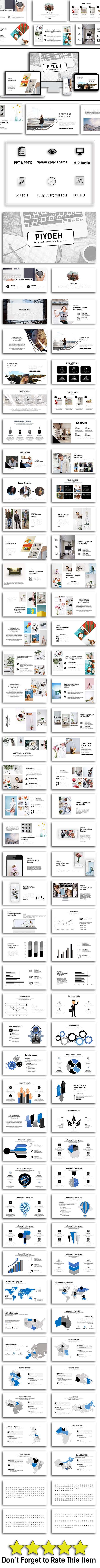 Piyoeh Business Presentation - Business PowerPoint Templates