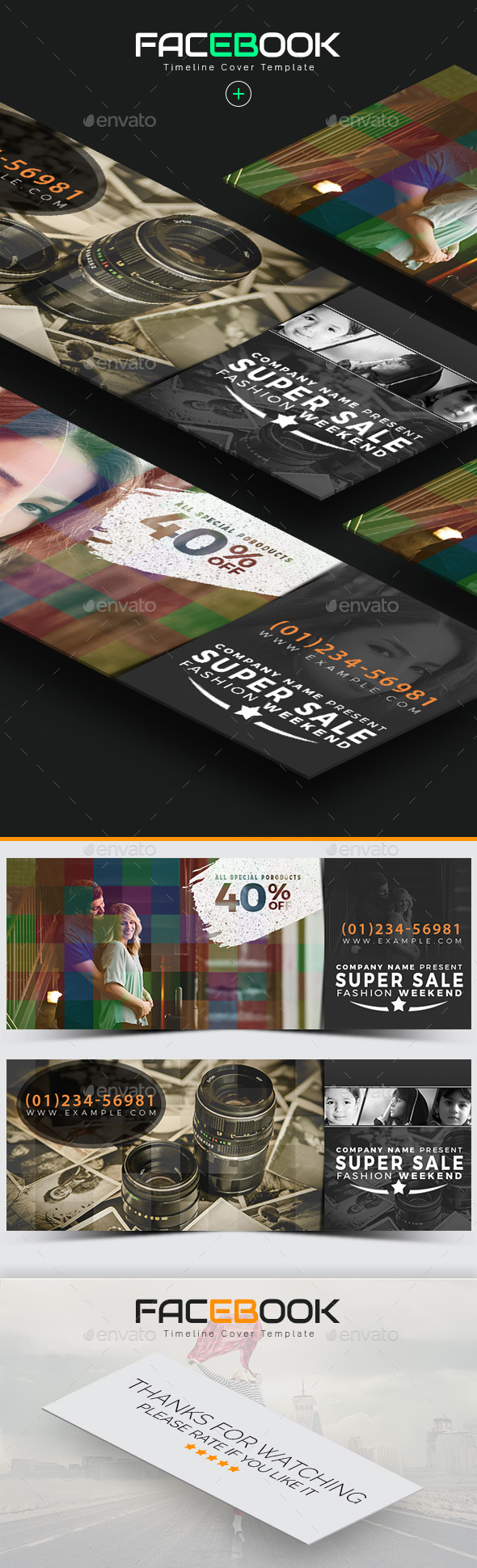 GraphicRiver Facebook Cover 21032220