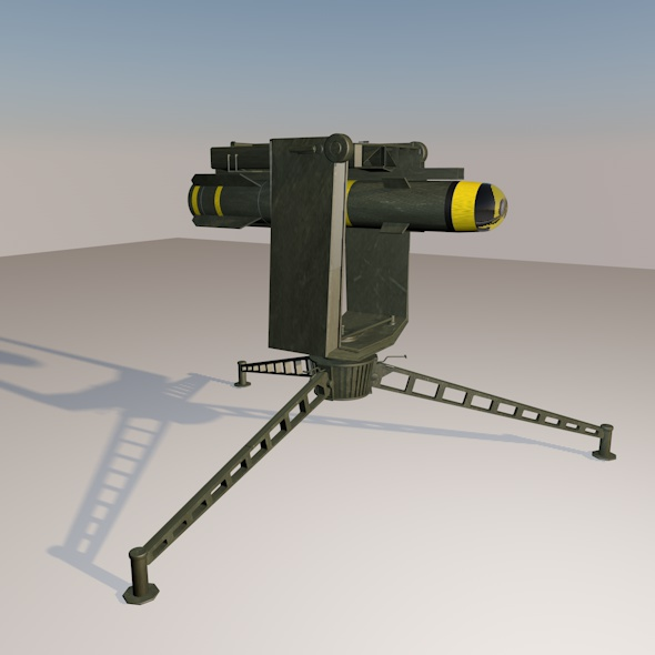 Launcher helfire - 3DOcean Item for Sale