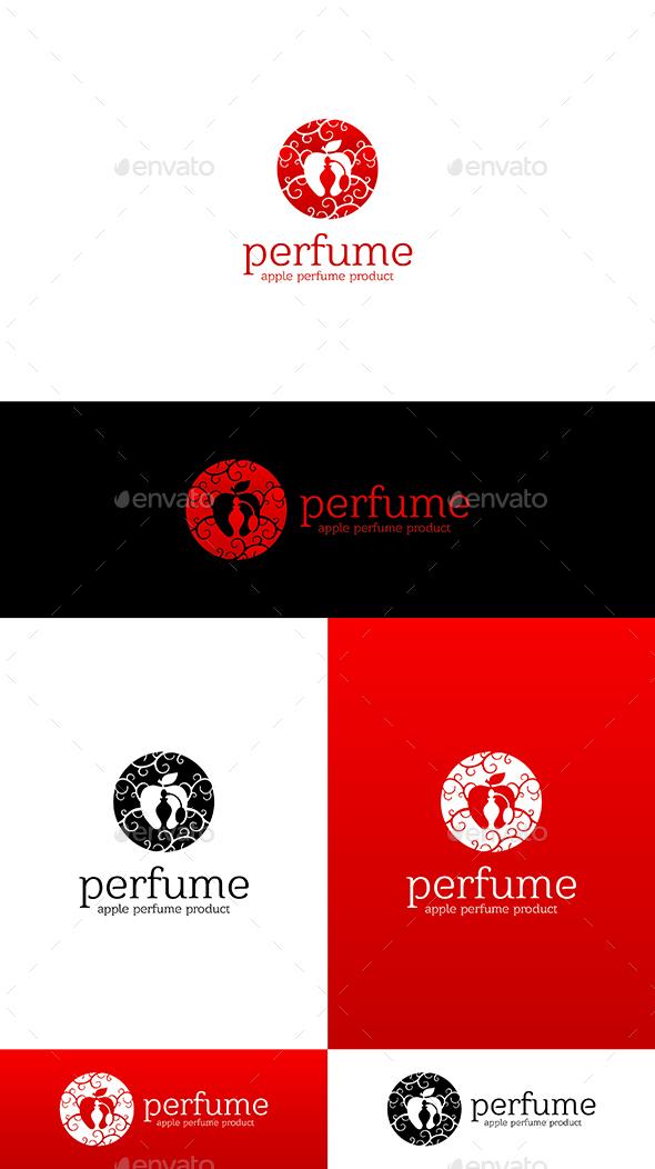 GraphicRiver Apple Perfume Logo Template 21032433