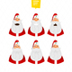 Santa Claus Characters Emotions Set for Your Design
