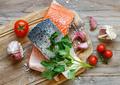 Fresh raw salmon - PhotoDune Item for Sale
