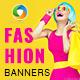 Fashion Sale Banner Set