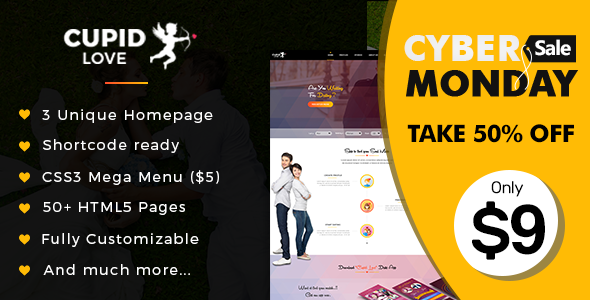 Cupid love dating website html5 template download nulled cupid love dating website html5 template file size 32 mb maxwellsz