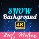 Snow Background - VideoHive Item for Sale