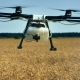 Agriculture Drone on Field - VideoHive Item for Sale