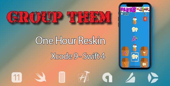 CodeCanyon Group Them One Hour Reskin iOS 11 and Swift 4 ready 21033630