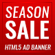 Seasonal Sales -  HTML5 Ad Banners