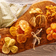 Dried fruits on wooden background - PhotoDune Item for Sale