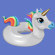 Rainbow Unicorn Float - GraphicRiver Item for Sale