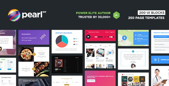 Pearl WP - Corporate Business WordPress Theme