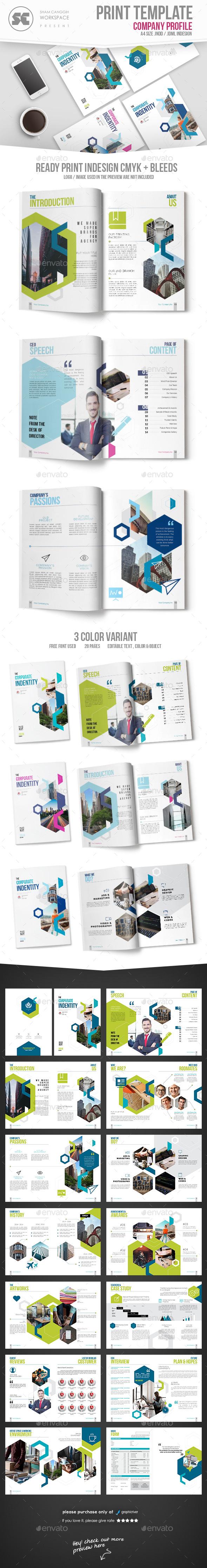GraphicRiver Company Profile 21035102