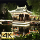 Night View of Ancient Chinese Town - VideoHive Item for Sale