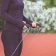 Hands an Jumping Women on the Jump Rope. Outdoor Sports - VideoHive Item for Sale