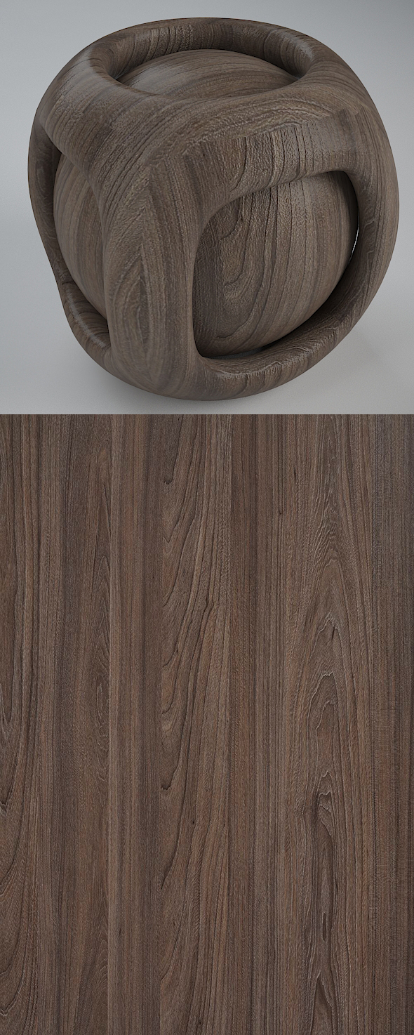 Real Plywood Vray Material Basel Elm - 3DOcean Item for Sale