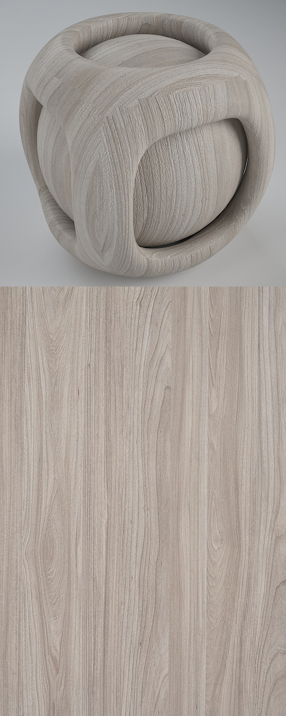 Real Plywood Vray Material Geneva Elm - 3DOcean Item for Sale