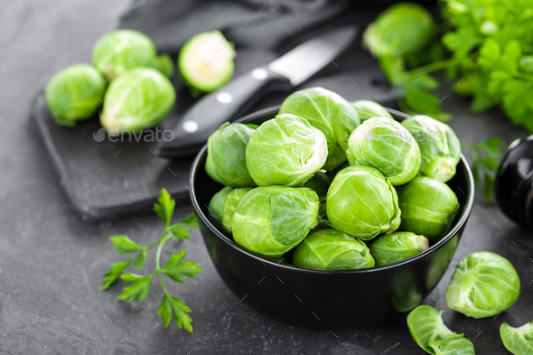 Brussels sprouts - Stock Photo - Images