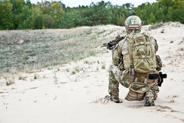 US soldier - Stock Photo - Images