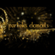 Gold Particles Elements - VideoHive Item for Sale