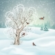 Vector Winter Landscape - GraphicRiver Item for Sale
