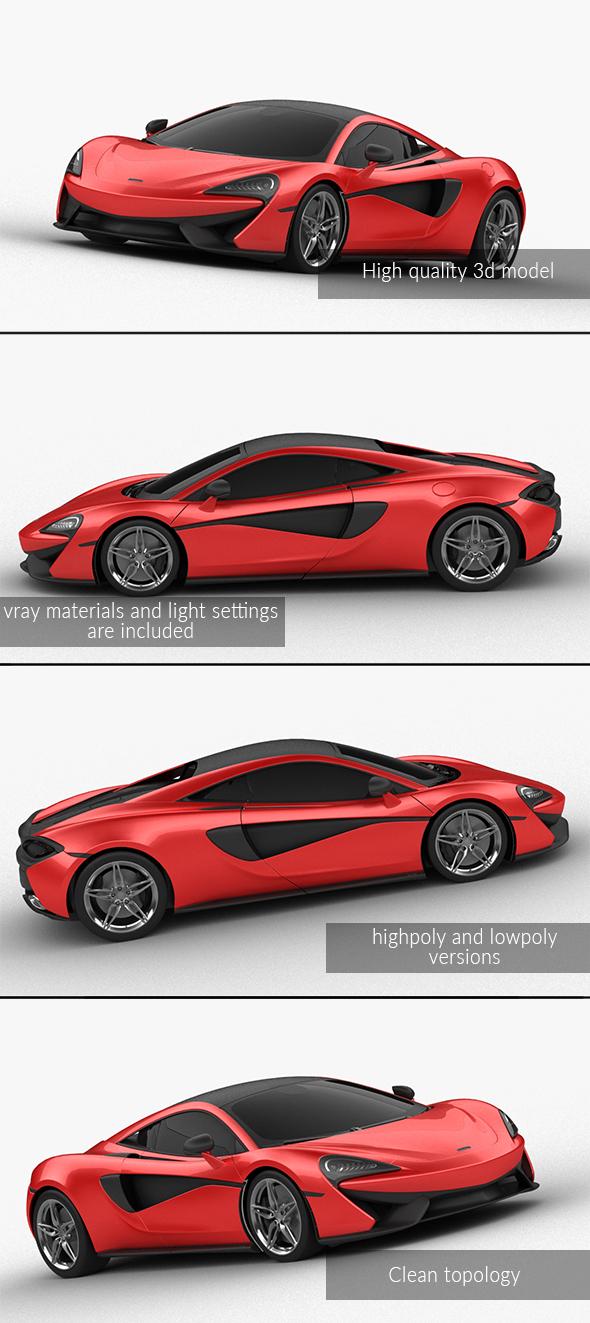 3DOcean McLaren 570S 21036128