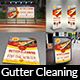 Gutter Cleaning Services Advertising Bundle - GraphicRiver Item for Sale