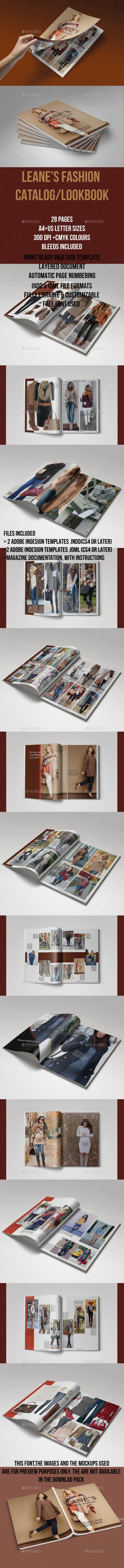 GraphicRiver Leane's Autumn Fashion Catalog Lookbook 21011429
