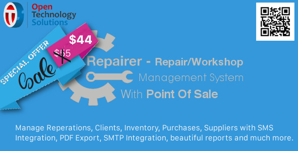 Repairer - Repair/Workshop Management System With Point Of Sale - CodeCanyon Item for Sale