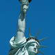 Statue of Liberty upper part, blue sky in New York - PhotoDune Item for Sale