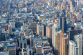 New York City Manhattan aerial view, skyscrapers background - PhotoDune Item for Sale