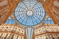 Milan, Vittorio Emanuele gallery interior view in Italy - PhotoDune Item for Sale