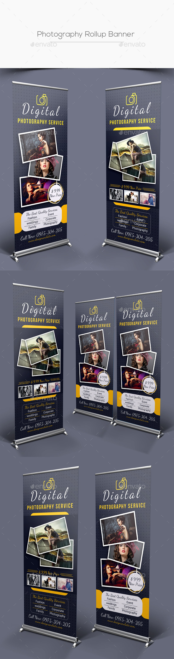 GraphicRiver Photography Rollup Banner 21036673