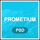 Prometium - Multi-Purpose PSD template - ThemeForest Item for Sale