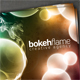 Bokeh Flame Card - GraphicRiver Item for Sale
