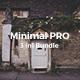 3 in 1 Minimal PRO Bundle Powerpoint Template
