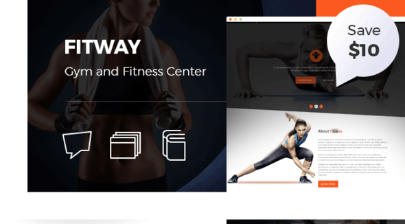 Fitway | Gym & Fitness HTML5 Responsive Template by vecuro