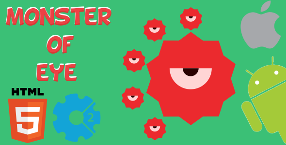 Download Monster Of Eye - HTML5 Game