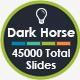 Dark Horse Keynote Template - GraphicRiver Item for Sale