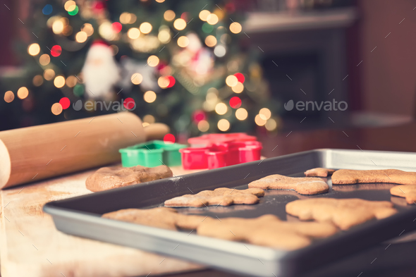 Gingerbread cookies - Stock Photo - Images