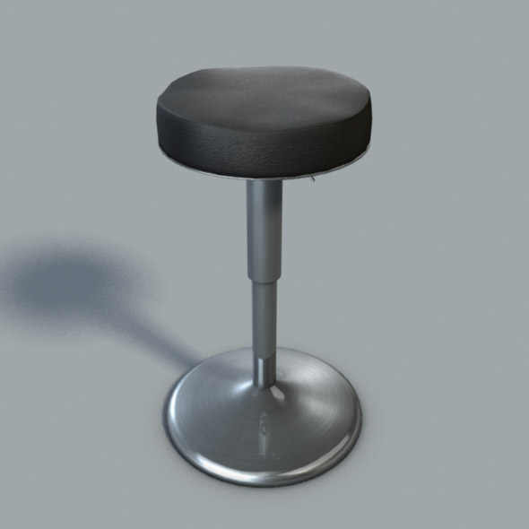 3DOcean Modern Kitchen Bar Stool 21037617