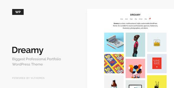 Dreamy - Biggest Portfolio WordPress Theme