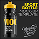 Sports Bottle Mockup Template - GraphicRiver Item for Sale
