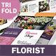 Florist Trifold Brochure 3