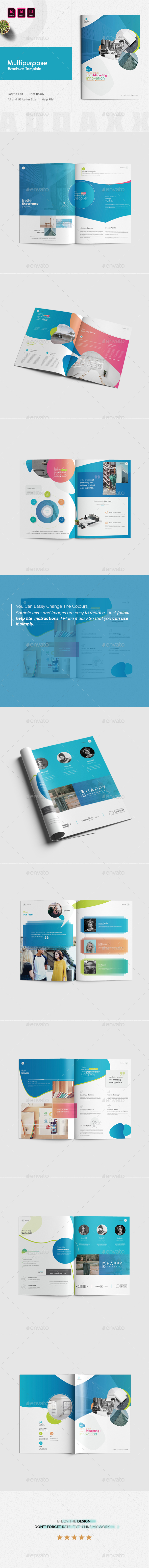GraphicRiver Multipurpose Brochure Template 21037825