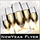 The Golden New Year Flyer - GraphicRiver Item for Sale