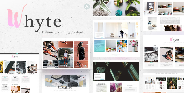 Whyte | Creative WP Theme - Personal Blog / Magazine