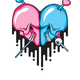 Skull Heart Shape - GraphicRiver Item for Sale