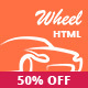 Wheel - Car Rental & Booking Responsive and Modern HTML5 Website Template