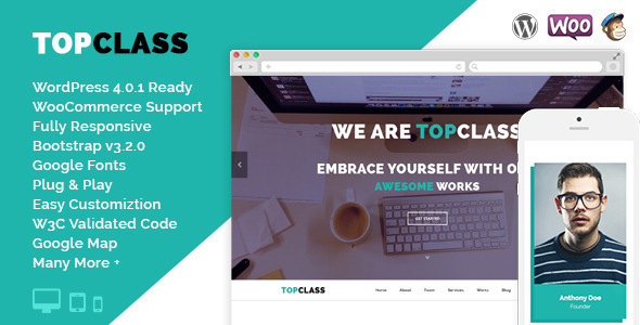 TopClass - Multipurpose Business & Corporate Theme - Business Corporate